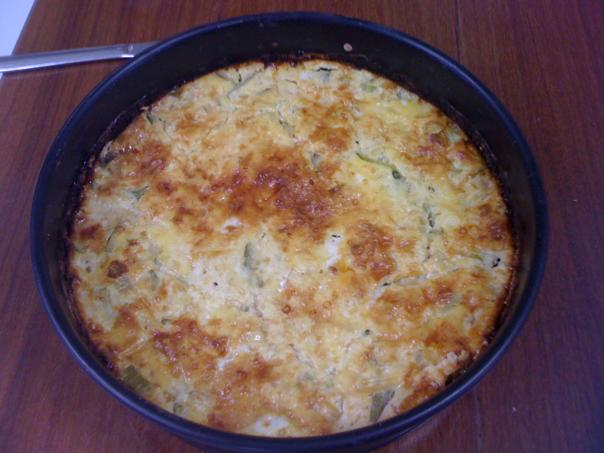 Cheese Cake de Espinafre