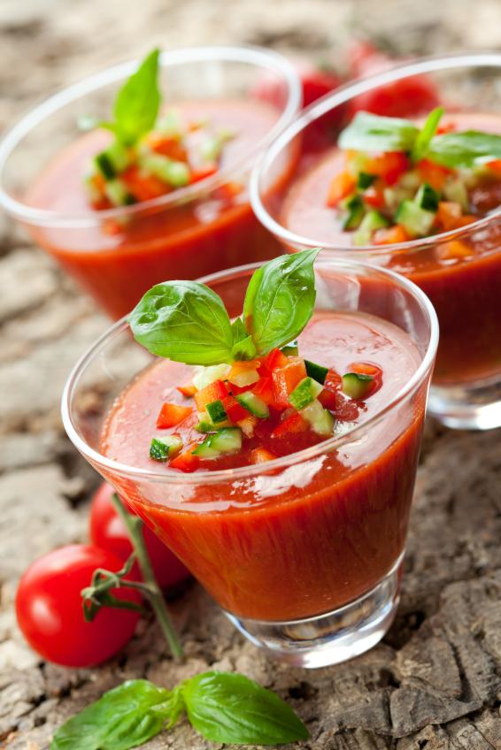 sopa tomate - gazpacho
